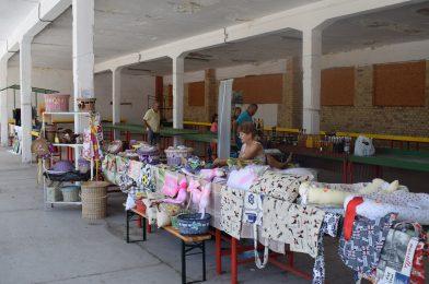 Ott voltunk a kézműves piacon a Komáromi Erőd árnyékában