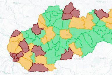Koronavírus: Vörös zónává változott a Komáromi járás
