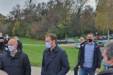 Tömeges tesztelés: Komáromban járt Igor Matovič