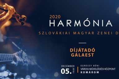 Átadták a 2020-as Harmónia-díjat
