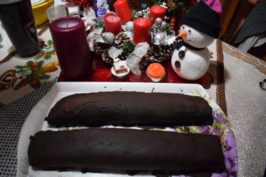 Karácsonyi ünnepvárás VII.- Gesztenyés tekercs