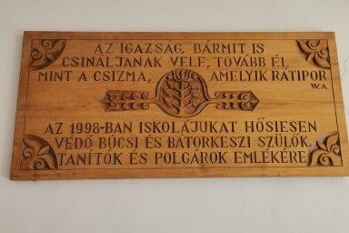 """22 éve ért véget a """"Búcs-Bátorkeszi iskolaháború"""""""