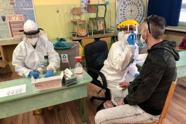 0,18 százalékos fertőzöttség a Komáromi járásban