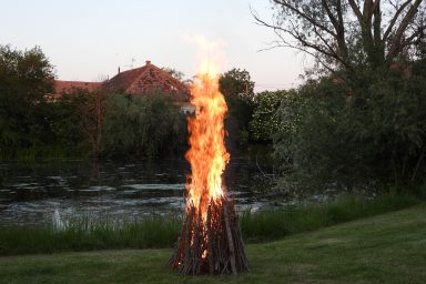 Martoson is meggyújtották az összetartozás lángját