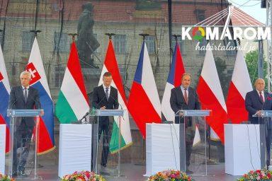 Komáromban találkoztak a V4-ek külügyminiszterei